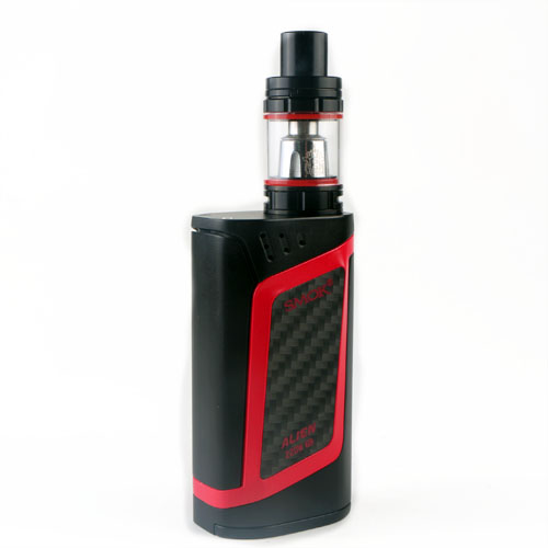 Original SMOK Alien 220W Temperature Control Mod Kit -  RED WITH BLACK