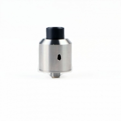 Oatty Style 1:1 Squonker RDA Bottom Feeding Atomizer by SER - Silver