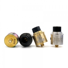 Apocalypse Apocalypse GEN 2 Style 24mm RDA Rebuildable Dripping Atomizer - Silver