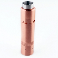 Kennedy Style 24mm Hybrid Mechanical Mod + Kennedy Trickster 24 Style RDA Kit - Copper
