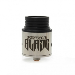 Psywar Blade Style RDA 24.5mm Rebuildable Dripping Atomizer - Silver
