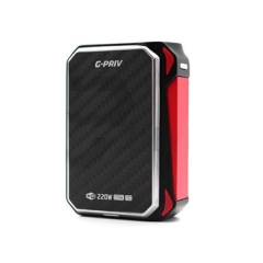 Authentic SMOK G-Priv 220W TC Touch Screen Box Mod - Black Red