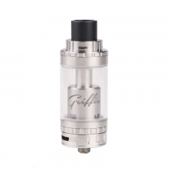Griffin Style 25mm RTA Rebuildable Tank Atomizer Top Air Flow Edition - Silver