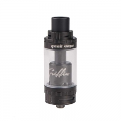 Griffin Style 25mm RTA Rebuildable Tank Atomizer Top Air Flow Edition - Black