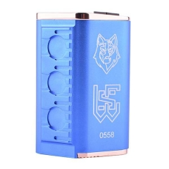 Sith v2 Style Parallel Quad 18650 Mechanical Mod - Blue