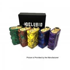 Pre-Order Resin Delubio Style 18650 Unregulated Series Mechanical Box Mod - Random