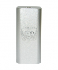 Hammer of God v3 Style Parallel-Series  Mechanical Mod - Silver