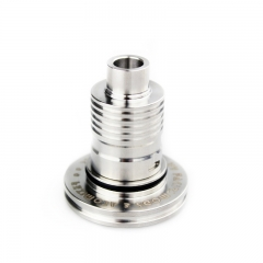 IDA Concept Style 316SS RDA Rebuildable Dripping Atomizer - Silver