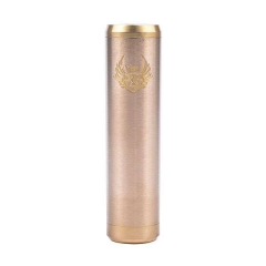 Cartel Style 18650 Mechanical Mod - Brass