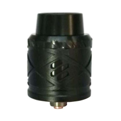 Royal Hunter X 24mm Aluminum Rebuildable Dripping Atomizer - Black