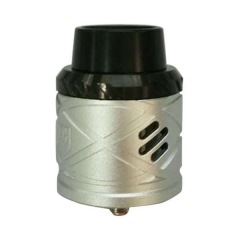 Royal Hunter X 24mm Aluminum Rebuildable Dripping Atomizer - Silver