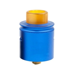 PT Style 24mm Rebuildable Dripping Atomizer w/Pei Drip Tip - Blue