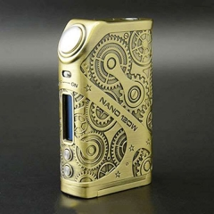 Pre-sale Original Tesla Nano 120W VW TC APV Box Mod - Brass
