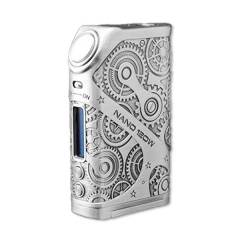 Authentic Teslacigs Nano 120W VW TC APV Box Mod - Silver