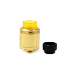 Kryten Style 24mm Rebuidlable Dripping Atomizer RDA w/Bottom Feeding Pin- Brass