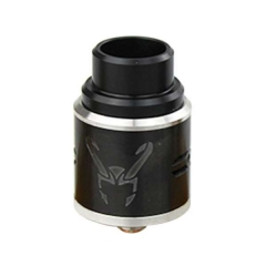 Loki Style 24mm Rebuidlable Dripping Atomizer  - Black