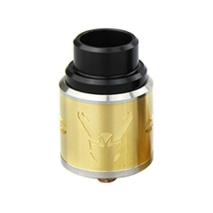 Loki Style 24mm Rebuidlable Dripping Atomizer  - Gold