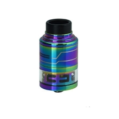 Authentic Hcigar Fodi 316SS RDTA 24mm Atomizer - Multicolor