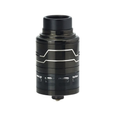 Authentic Hcigar Fodi 316SS RDTA 24mm Atomizer - Black