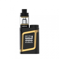 Authentic Smoktech SMOK AL85 Kit w/ Cloud Beast TFV8 Baby Clearomizer - Black Gold