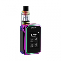 Authentic Smoktech SMOK G-Priv 220W TC VW APV Box Mod Kit - Multicolor
