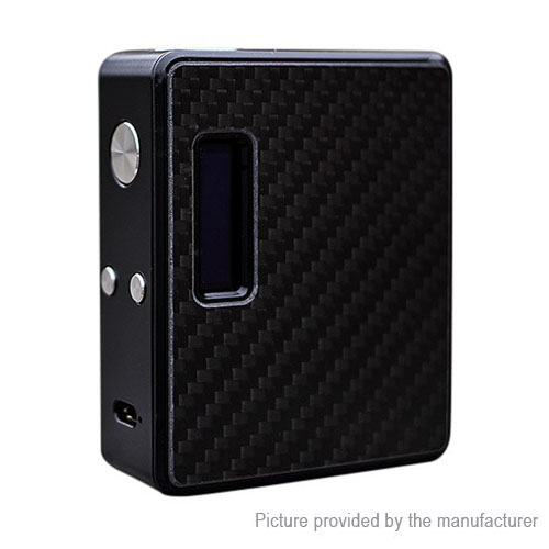 Original Lost Vape ESquare DNA60 TC VW APV Box Mod - Black Carbon Fiber