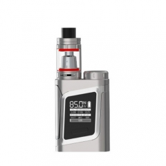 Authentic Smoktech SMOK AL85 Kit w/ Cloud Beast TFV8 Baby Clearomizer - Silver