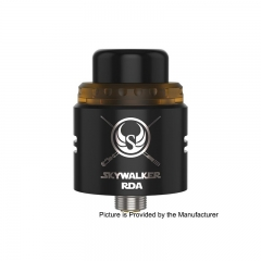 Authentic Youde UD Skywalker 24mm Rebuildable Dripping Atomizer - Black