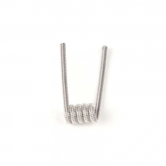 Demon Killer Kanthal A1 0.35ohm Space Clapton Coil Violence Coil Set for RBA Atomizer (10-Pack) - Silver