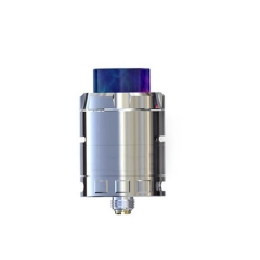 Authentic Ijoy Cigpet Eco 24mm Rebuildable Dripping Atomizer - Silver