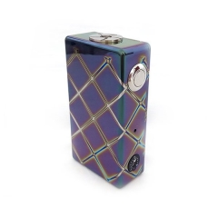 Luxury Ares 280W Style VV Variable Voltage Box Mod - Rainbow Multicolor
