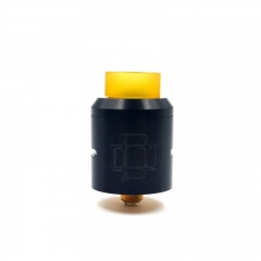 Druga Style 24mm CSS Rebuildable Dripping Atomizer - Black