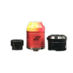 Peerless Style RDA Rebulidable Dripping Atomizer - Red