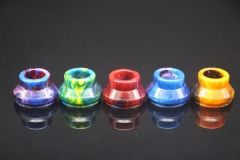Resin Wide Bore Drip Tip 24mm for Limitless/goon 528/subzero 24mm Atomizer 1pc - Multicolor