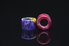 Resin Drip Tip for Petri Atomizer 1pc - Multicolor
