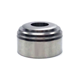 Coppervape Hussar RTA Top Cap for 510 Driptip - Silver