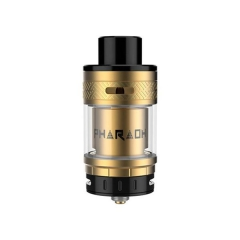 Authentic Digiflavor Pharaoh 25mm RTA Rebuildable Tank Atomizer - Gold