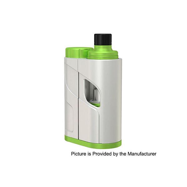 Original Eleaf iKonn Total 50W  Kit w/ ELLO Mini Clearomizer 2ml Version- White Greenery