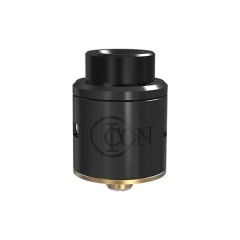 Authentic Vandy Vape ICON 24mm RDA Rebuildable Dripping Atomizer w/Bottom Feeding Pin- Black