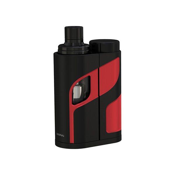 Original Eleaf iKonn Total 50W  Kit w/ ELLO Mini Clearomizer 2ml Version- Black Red