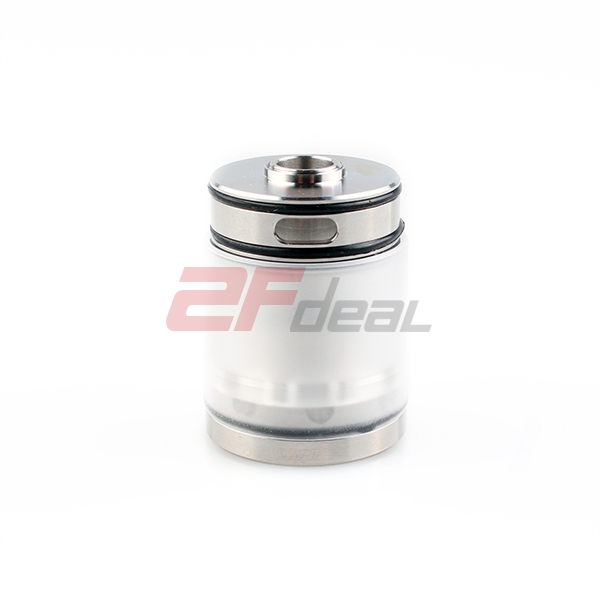Coppervape 316SS Micro Tank Set for Hussar Style Atomizer by Copppervape - Silver