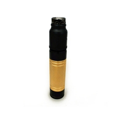 AV Hulk Style 18650 24mm Mechanical Mod Kit - Black Gold