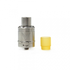 Vaux Style 24mm Rebuildable Dripping Atomizer w/ Pei Drip Tip- Silver