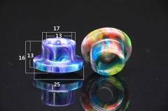 Resin Drip Tip for Limitless XL Atomizer 1pc - Multicolor