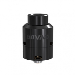 Original  Vandy Vape Govad 24mm RDA Rebuildable Dripping Atomizer - Black