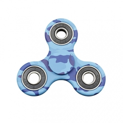 Tri- Spin Hand Spinner Focus Toy ABS EDC Every Day Carry - Blue