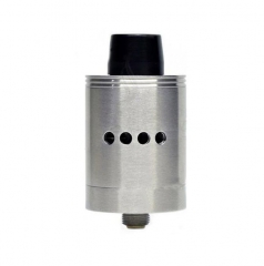 Zero X 25mm Competition Rebuildable Dripping Atomizer RDA - Silver