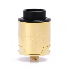 VGOD Style 24mm Velocity Deck RDA Rebuildable Dripping Atomizer - Gold