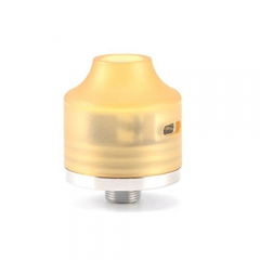 Authentic Oumier Wasp Nano Mini 22mm RDA Rebuildable Dripping Atomizer w/ Bottom Feeeder Pin- Gold