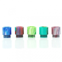 Replacement Resin Drip Tip for TFV8 Atomizer (1 Set) - Multicolor